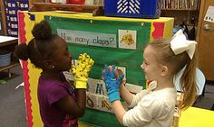 Clapping words is a fun way to hear syllables, segment and chunk word families.
