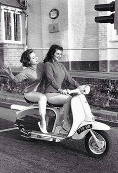 Lambretta girls