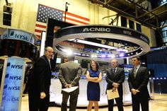 CNBC's new set draws about as much electricity as a window air conditioner.