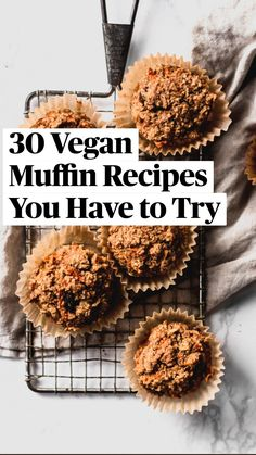 Vegan Recipes Easy Healthy, Vegan Breakfast Recipes, Vegan Vegetarian, Real Food Recipes, Vegetarian Recipes, Healthy Eating, Veggie Monster, Muffin Recipes, Egg Recipes