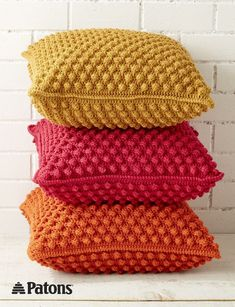 Bobble-licious Pillows