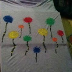 Homemade truffala tree shirt