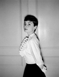 Audrey Hepburn, 1950. Photo by Bert Hardy
