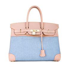 Hermès Vintage Birkin 35 Denim Bag