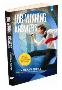 Vaibhav Gupta is the founder and owner of the blog www.howtocrackaninterview.com. After attaining a Masters degree in Business Administration from Leeds Business School, United Kingdom, his entrepreneurial spirit inspired him to start, Oxygen Consultancy Services, a New Delhi based leading executive search and recruitment firm.