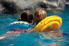 Kids at Sea Shell Pool