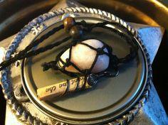 Petalite Peace Charm Necklace. By Carla VanKoughnett ♥ ~ ArtCraftandNature