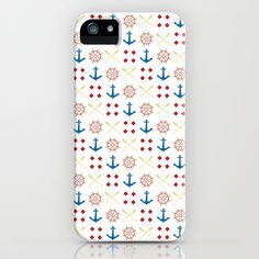 Anchors Away iPhone & iPod Case by Toodles Noodles - $35.00