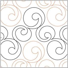 Bubbles - Paper - - Quilts Complete - Longarm Continuous Line Quilting Patterns Quilting Stencils, Quilting Templates, Longarm Quilting, Free Motion Quilting, Quilting Tutorials, Quilting Ideas, Quilting Stitch Patterns, Machine Quilting Patterns, Quilt Stitching
