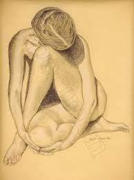 """Résultat de recherche d'images pour """"dessin crayon nue"""""""