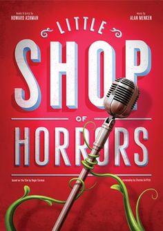 Typography Design Inspiration #10 | Typography design inspiration, Little shop of horrors, Typography design
