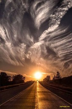 Amazing Picture Of Sunset