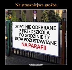 Najstraszniejsza groźba Man Humor, Best Memes, Haha, Entertaining, Funny, Pictures, Photography, Text Posts, Best Memes Ever