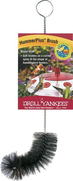 Droll Yankees Inc-Hummerplus Brush For Hummingbird Feeders 9 Inch