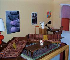 Modern Dollhouse: I House, livingroom | Flickr - Photo Sharing!