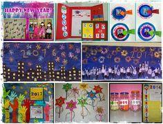 παιχνιδοκαμώματα στου νηπ/γειου τα δρώμενα: προτάσεις και ιδέες για να υποδεχτούμε το νέο έτος !!! Seasons Months, Happy New Year, Advent Calendar, Holiday Decor, Blog, Advent Calenders, Blogging, Happy New Year Wishes