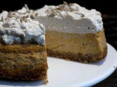 Aliter Dulcia: tarta especiada de queso y calabaza