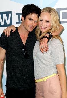 Ian and Caroline