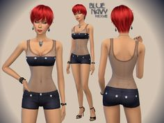 The Sims Resource: BlueNavy by Paogae • Sims 4 Downloads