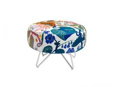 'Button' seat now with Swedish fabrics   Furniture Design by Form Us With Love