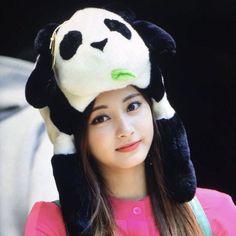Tzuyu Wallpaper, Tzuyu Twice, Cute Panda, Nayeon, Beanie, Hats, Pretty, Lesbians, Sally