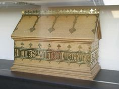 """In 1868, a wealthy French family made a donation to the the Franciscan church: a small wooden box labeled """"Corpus Valentini Martyris,"""" or 'the Body of Saint Valentine.' The church sent the relic to Saint Francis' Church, in the rundown neighborhood of Gorbals, Glasgow. It sat there in almost complete anonymity for over a century. In 1999, it was moved to the nearby, Blessed St John Duns Scotus. Every Valentine's Day, it is decorated with flowers while the friars say prayers for lovers."""