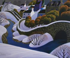George Callaghan - Village In The Snow