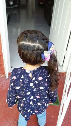 Are you seeking the foremost modern and advanced haircut specifically for your little one? Most up-to-date woolhairstyles are perfect notion for kid's look. Girls Hairdos, Cute Little Girl Hairstyles, Baby Girl Hairstyles, Older Women Hairstyles, Cute Hairstyles For Short Hair, Braided Hairstyles, Short Hair Styles, Toddler Hairstyles, Girl Haircuts