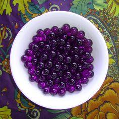 Purple marbles