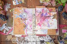 """Мастерская Ольги Гринберг: Альбом для мастер-классов """"Краски твоей осени"""""""