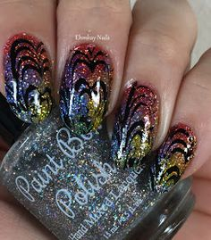 ehmkay nails: Paint Box Polish Westerosi Collection Nail Art with Born Pretty…