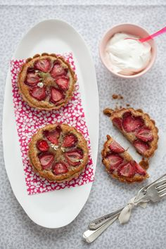 Gluten Free Strawberries Tart w/ Hazelnut Frangipane and Quinoa Pâte ...
