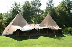 Based in Halstead we are in a prime location to provide tipis for hire in Essex, Suffolk, Norfolk, Cambridgeshire Tipi Wedding, Wedding Hire, Wedding Venues, Wedding Ideas, Tipi Hire, Rustic Wooden Table, Bell Tent, Outdoor Settings, East Sussex