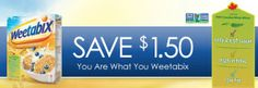 SnapSaves Weetabix SnapSaves Weetabix $1.00 Rebate + Coupon + Price Match = .50c or FREE or Overages   abcouponers.com.00 Rebate + Coupon + ...