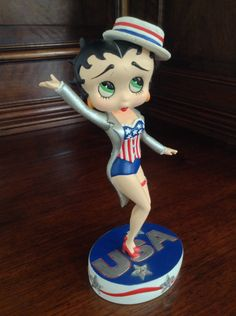 Betty Boop Star Spangled Betty Collector Figurine