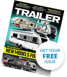 Free Issue Cover of Trailer Life Magazine Tiny Trailers, Small Trailer, Camper Trailers, Travel Trailers, Trailer Life Magazine, Rv Camping, Camping Stuff, Teardrop Trailer, Toy Hauler