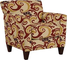 Allegra Stationary Occasional Chair by La-Z-Boy...love this fabric!
