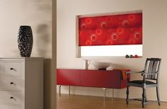 Add the WOWW factor with Adagio Chilli Roller Blinds, Blinds