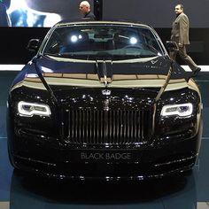 Black Badge •Rolls-Royce Ghost Series II •Follow @miami.lux - Via @nickborn17