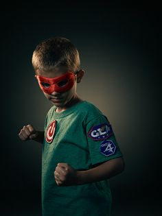 Real Life Superheroes by Dean Bradshaw, via Behance