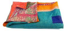 #VintageKanthaQuilts #QuiltsKantha #Gudri  #FlowerPrintKantha /BY #CraftsOfGujarat #craftnfashion #meghcraft #indianethnicjewelry