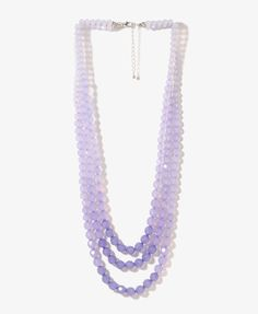 Forever21 : Layered Ombré Bead Necklace | $6.80 - How cool is this? ;)