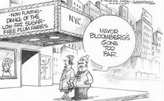 Mayor Bloomberg's Nutcracker. Dana Summers on GoComics.com #Holidays #Liberties #Freedoms #Politics #Comics