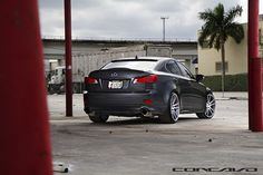 Lexus IS250 on Concavo CW-S5 Matte Grey Machined Face, via Flickr.    with Proxes T1R #toyotires