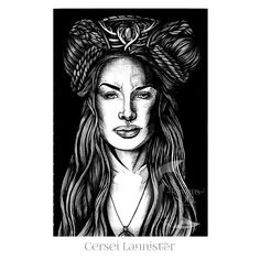 0 1/ 0 5 Cersei Lannister, a drawing a day with a Game of Thrones theme.  Who should I draw tomorrow?  Thank you again for the nomination @sk_art_illustration  #cerseilannister #cersei #queen  #got #gameofthrones #fanart #sketch_dailies #drawingaday #sketch #drawing #portraitillustration #portrait  #blackandwhite #birodrawing #pendrawing #bicballpoint #linedrawing #illustration #art #ink #inkdrawing #hair #longhair #headdress #gameofthroneshbo #gotart_ #blackndark #penfreaks #instaart…
