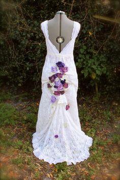 Sara custom listing wedding dress Balance by amandarosebridal