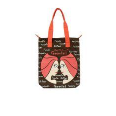 Gemini Canvas Brown Bag