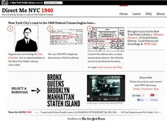 We love the design of Direct Me NYC 1940, the new NYPL web tool.