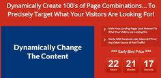 [DIMESALE] WPDynamicPages Plugin  Give Your Visitors What They are Looking For!