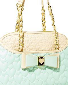 BE MY HONEY BUNS DOME SATCHEL BLACK MULTI accessories handbags non leather satchels